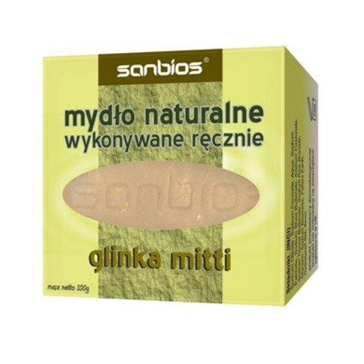 Glinka Mitti Soap Sanbios Natural