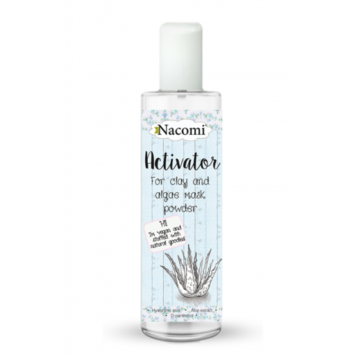 ACTIVATOR FOR CLAY AND MASKS NACOMI