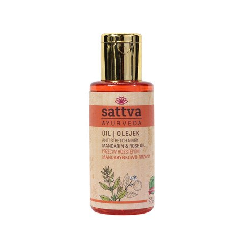 AYURVEDIC Anti Stretch Marks Oil SATTVA AYURVEDA