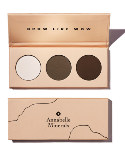 Annabelle Minerals Paleta cieni do brwi BROW LIKE WOW