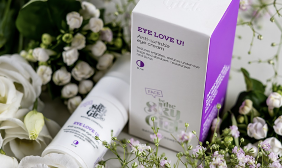 EYE LOVE U! Anti-wrinkle eye cream BeTheSkyGirl