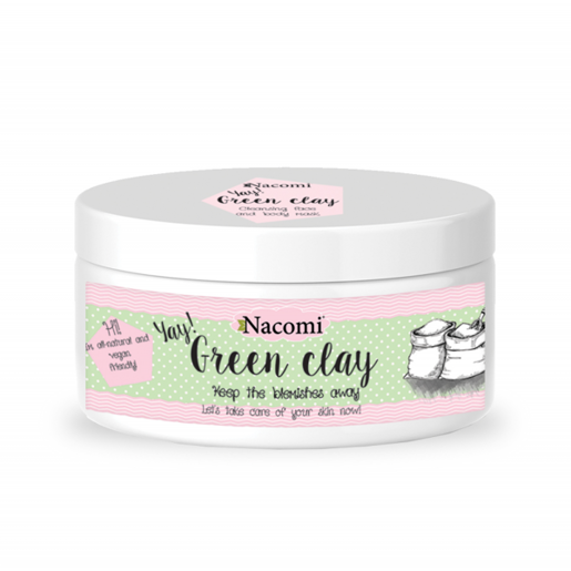 Green  CLAY ECO Nacomi