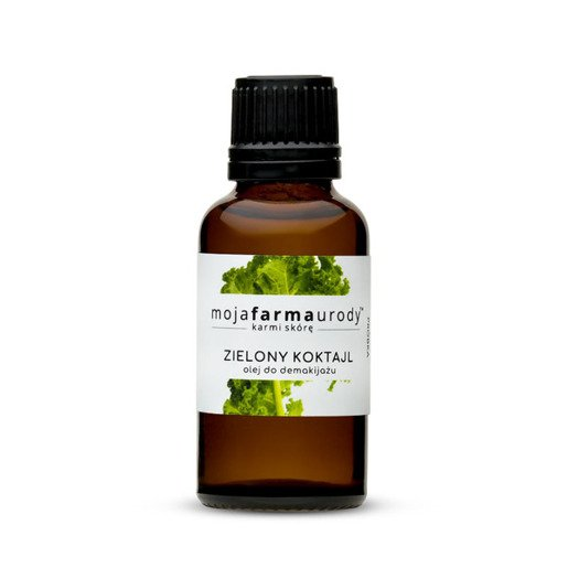 Green coctail Makeup remover oil MOJA FARMA URODY