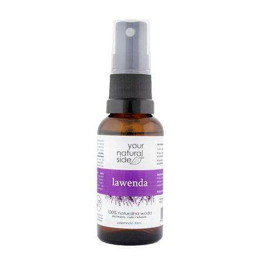 LAVENDER Organic FLOWER WATER YOUR NATURAL SIDE 30 ml