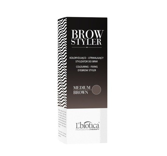 L'BIOTICA BROW STYLER COLOURING - FIXING EYEBROW STYLER