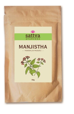 MANJISTHA HAIR & FACE POWDER SATTVA AYURVEDA