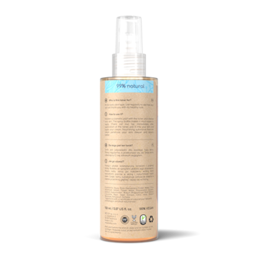 Resibo Moisture Toner for Face & Hair Damask rose
