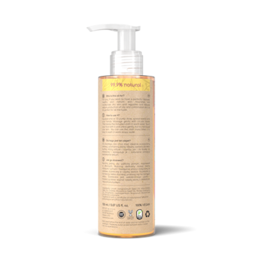 Resibo Natural  Make up Remover Oil  with cloth Bestseller