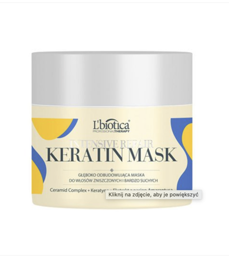 PROFESSIONAL THERAPY REPAIR THERAPY MASK L'biotica